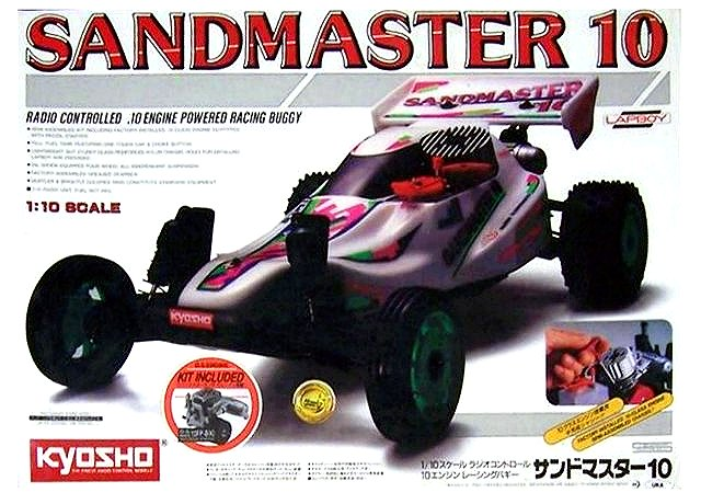 Kyosho Sandmaster 10 - 1:10 Nitro RC Buggy