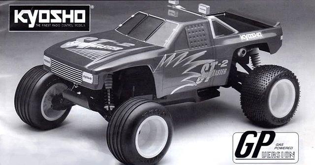 Kyosho Sandmaster ST-2 - 1:10 Nitro Stadium Truck
