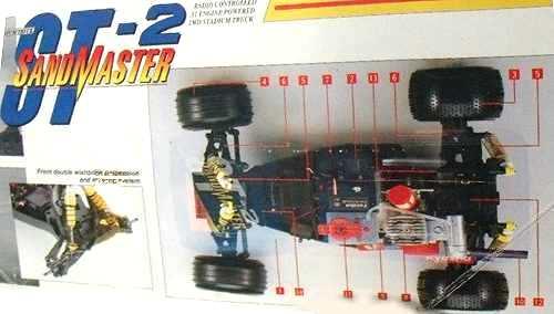 Kyosho Sandmaster ST-2 Chassis