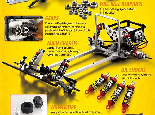 Kyosho Scorpion 2014 Chassis
