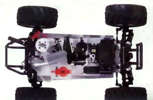 Kyosho Snakebite Chassis