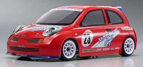Kyosho Spada 09L Nissan March Cup Car