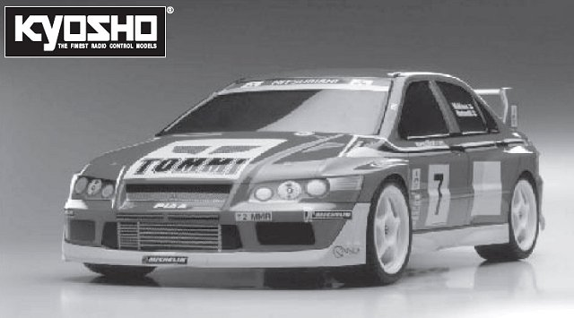 Kyosho TR-15 Rally - 1:10 Nitro Car