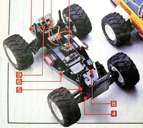 Kyosho Tracker Chassis