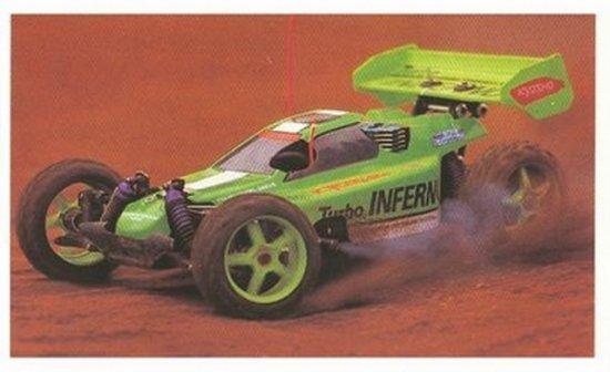 Kyosho Turbo Inferno - Vintage 1:8 Nitro RC Buggy