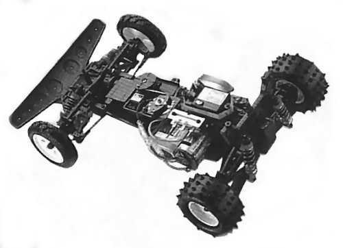 Kyosho Turbo Raider Chassis
