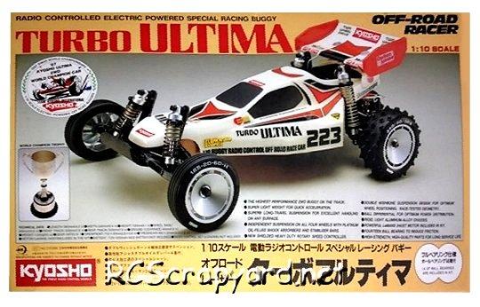 Kyosho Turbo Ultima - Vintage 1:10 Electric RC Buggy
