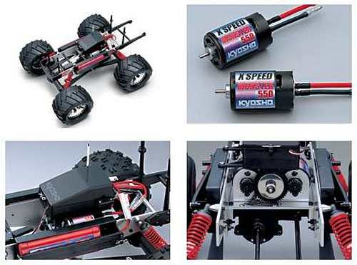 Kyosho Twin Force Chassis