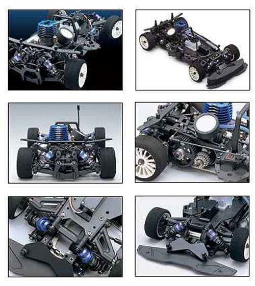 Kyosho V-One RR Chassis