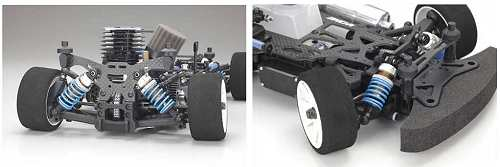 Kyosho PureTen V-One RRR Shimo Chassis