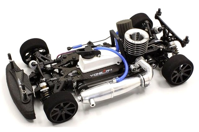 Kyosho V-One R4 - 1:10 Nitro On Road Chassis