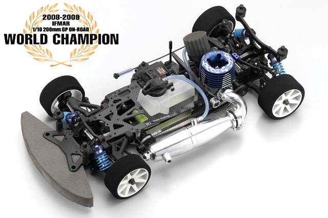 Kyosho V-One RRR Evo.2 World Champion - 1:10 Nitro RC Touring Car