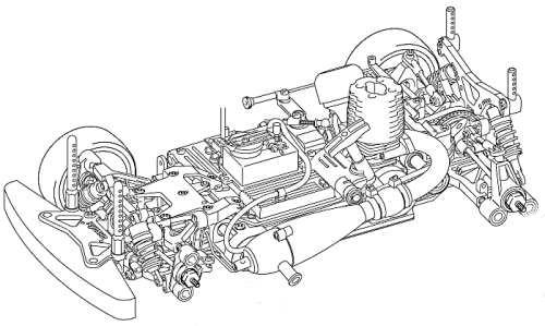 Kyosho PureTen V-One S III Evo Chassis