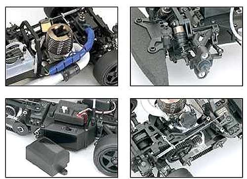 Kyosho V-One SII Chassis