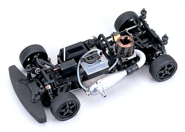 Kyosho V-One S II - 1:10 Nitro RC Touring Car