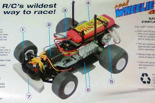 Kyosho Wheelie Action EP Chassis