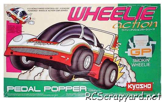 Kyosho Wheelie Action GP Series