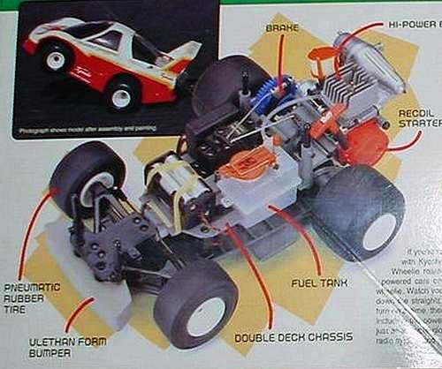 Kyosho Wheelie Action GP Series Chassis