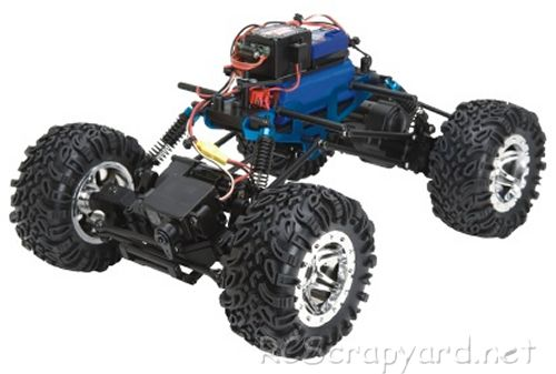 LRP Rock Crawler Chassis