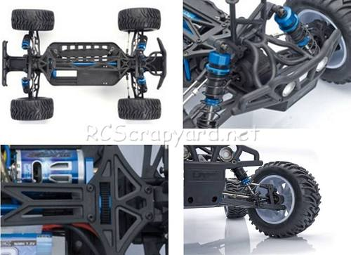 LRP S10 Blast MT Chassis