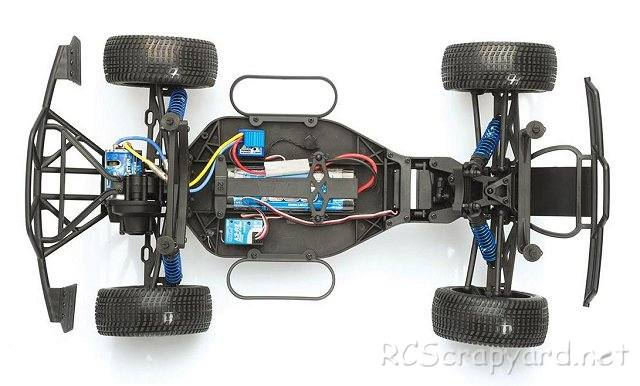 LRP S10 Twister SC Chassis - 1:10 Electric Short Course Truck