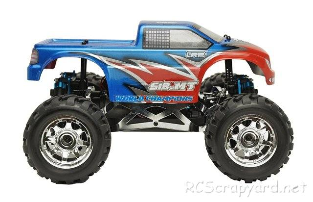 LRP S18 Monster Truck - 1:18 Electric RC Monster Truck