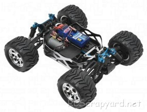LRP S18 MT Chassis