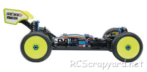 LRP S8 BXe Chassis