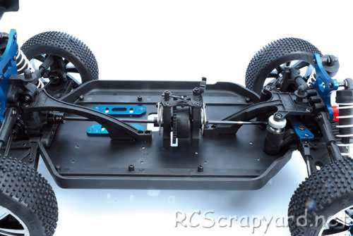 LRP S8 Rebel BX Chassis