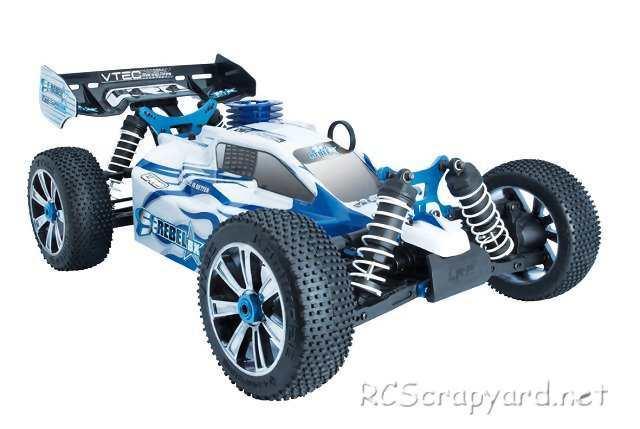 LRP S8 Rebel BX - 1:8 Nitro Buggy