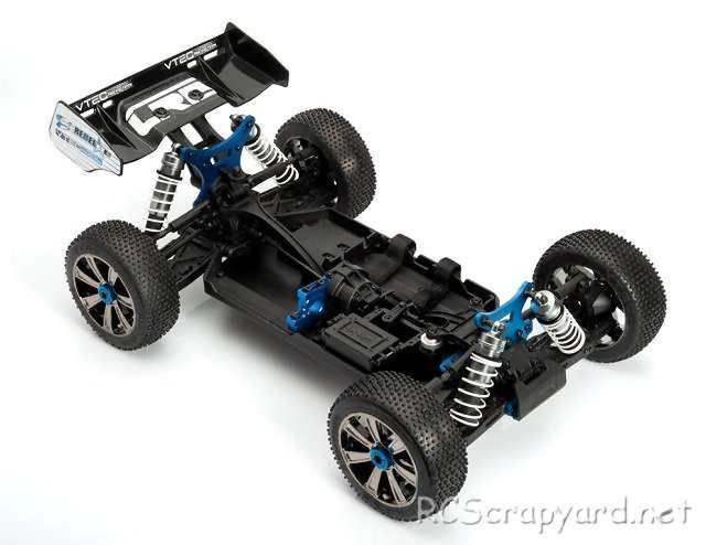 LRP S8 Rebel BXe Chassis