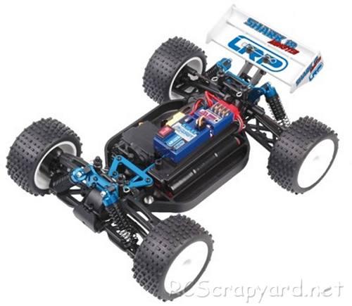 LRP Shark 18 Race Monster Truck Chassis