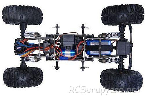 Team Losi Comp Crawler Chassis