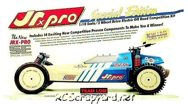Team Losi JRX Pro SE (Special Edition) - 1:10 Electric Buggy