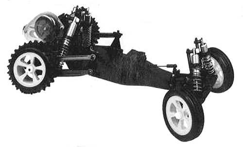 Losi JRX2 Chassis