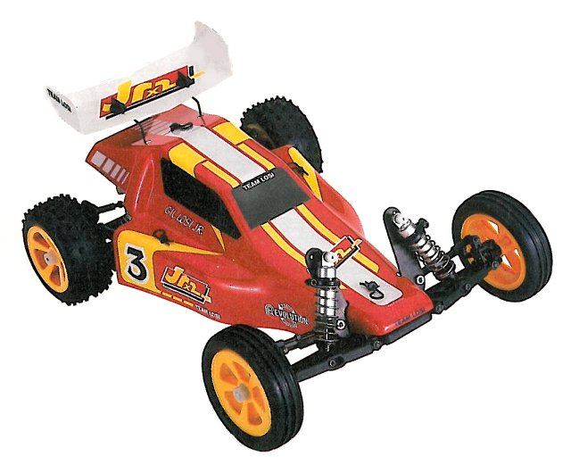 Team Losi JRX2 - 1:10 Electric RC Buggy