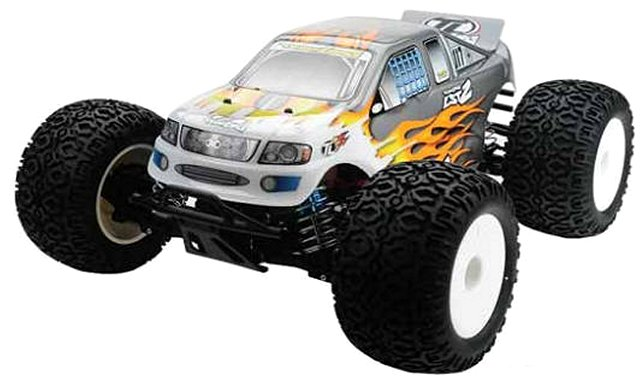 Team Losi LST2 - 1:8 Nitro RC Monster Truck
