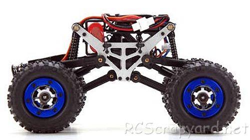Team Losi Micro Crawler Chassis