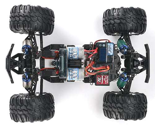 Losi Mini Monster Baja Chassis