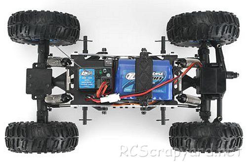 Team Losi Mini Rock Crawler Chassis