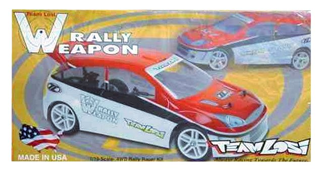 Losi Rally Weapon - 1:10 Electric RC Car
