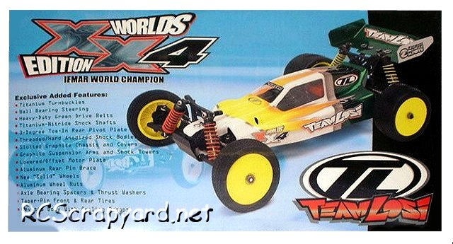 Team Losi XX4 Worlds Edition - 1:10 Electric Buggy