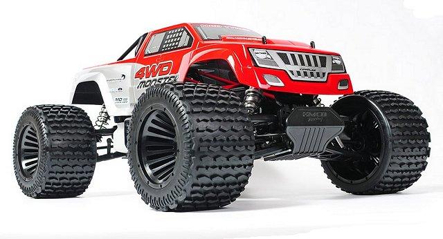 MCD Monster V4 - 1:5 Nitro Monster Truck