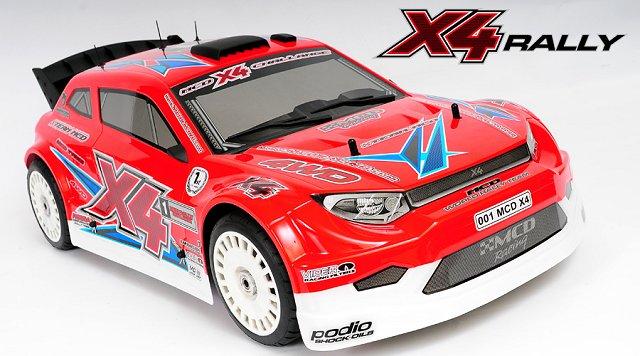 MCD X4 Rally - 1:5 Nitro RC Rally Car