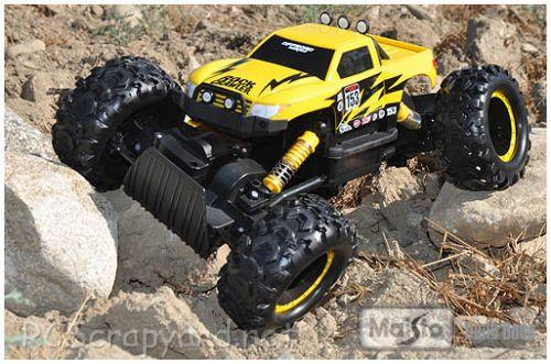 Maisto Rock Crawler Chassis