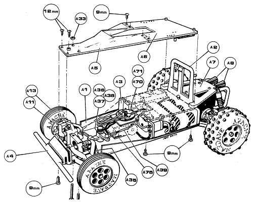 Mardave Apache Radio Controlled Model Archive Rcscrapyard