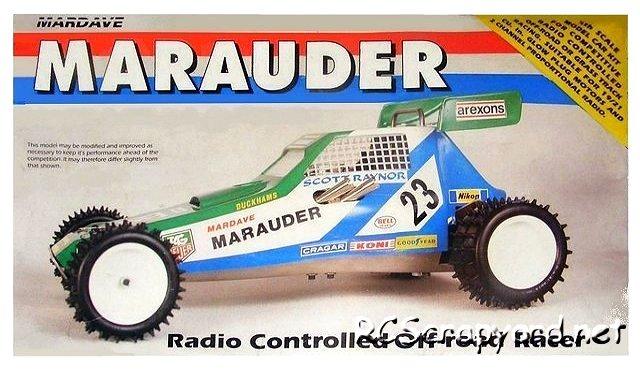 Mardave Marauder - 1:8 Nitro Buggy