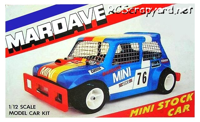 Mardave Mini Stock Car - 1:12 Electric Radio Controlled Model