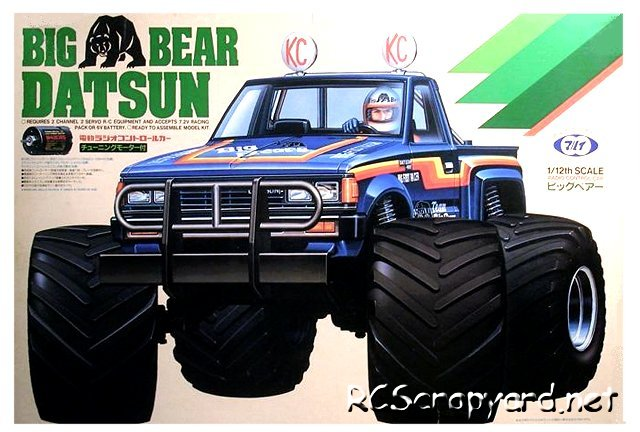 Marui Big Bear Datsun - 1:12 Electric Monster Truck