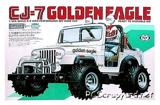 Marui CJ-7 Golden Eagle - 1:10 Electric Buggy
